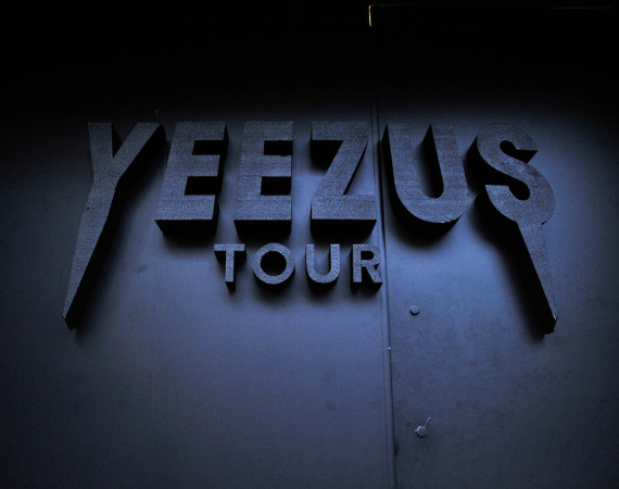 Kanye West Yeezus Tour Pop-Up Store in NYC 1