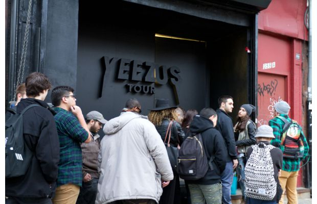 Kanye West Yeezus Tour Pop-Up Store in NYC 6