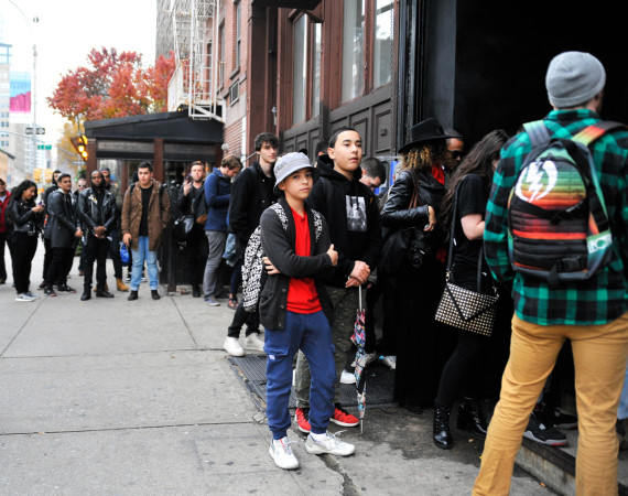 Kanye West Yeezus Tour Pop-Up Store in NYC 4