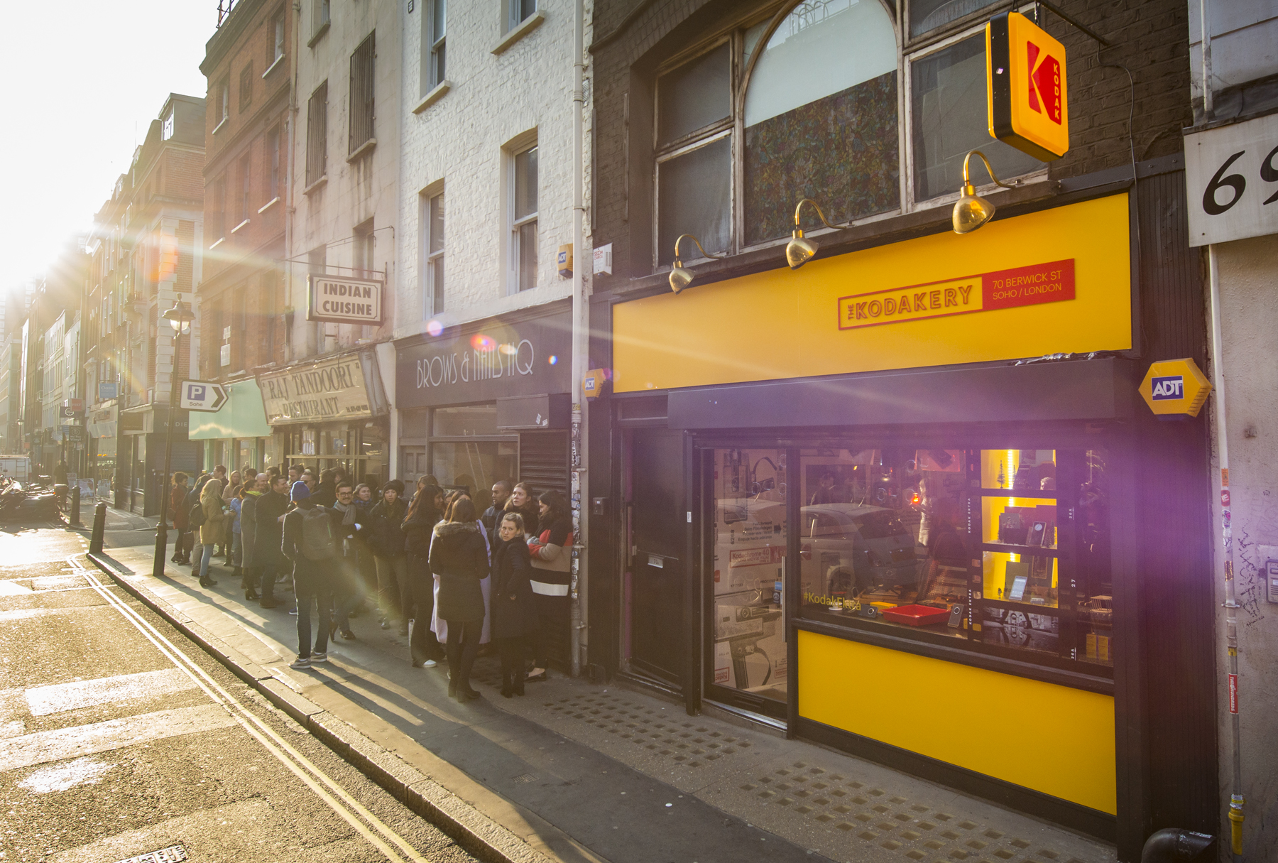 Kodak Launches London Pop-Up Shop with Storefront