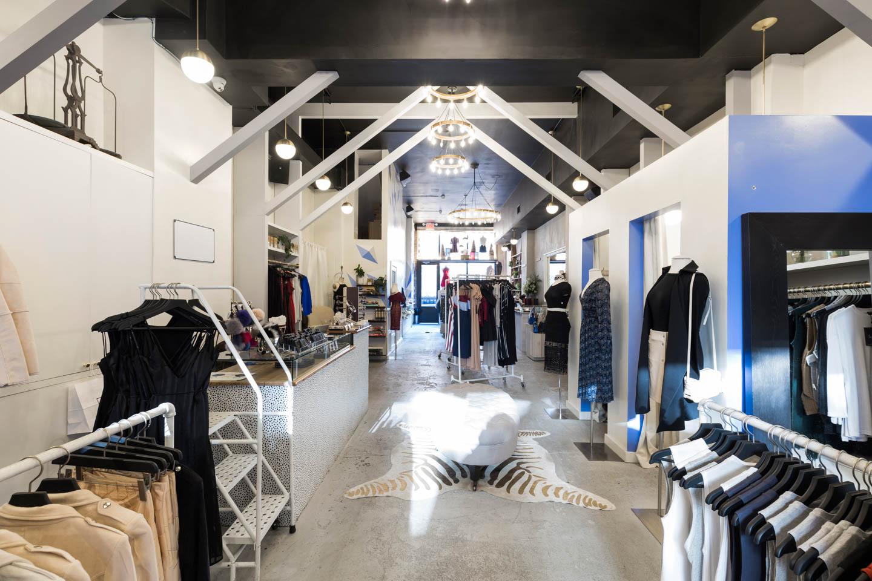 Pop-Up Fashion Store in Williamsburg
