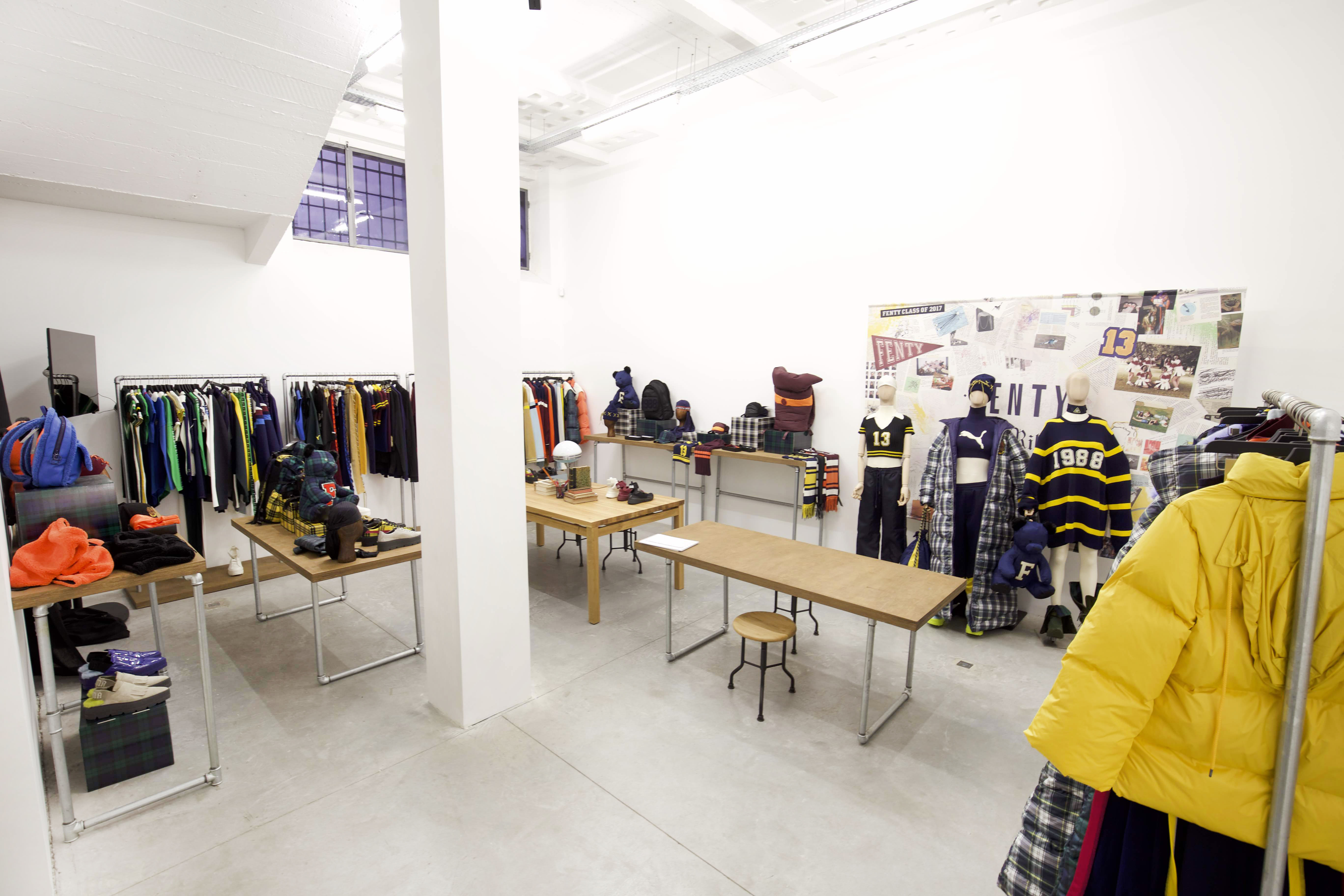 Rihanna Puma Paris Fashion Week Showroom