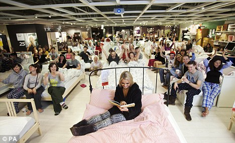 The IKEA sleepover experiential retail