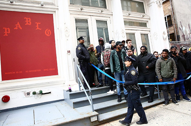 Kanye West Pop-Up Store