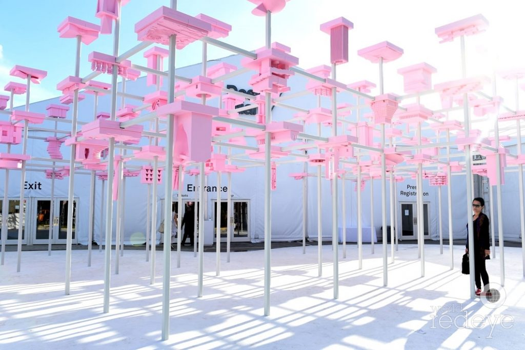 Pop up Space for Miami Art Basel