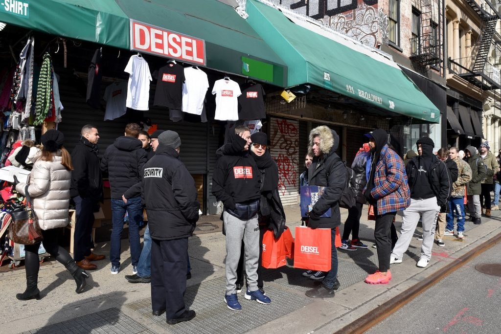 970a06ca22 Inside Diesel s Knockoff Pop Up Shop In NYC - Storefront Blog