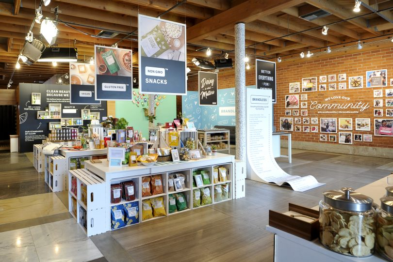 Brandless' 'Pop-Up With Purpose' Focuses on Community Over
