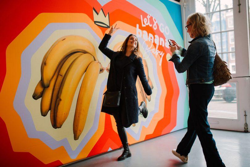Banana Bar éphémère à Amsterdam