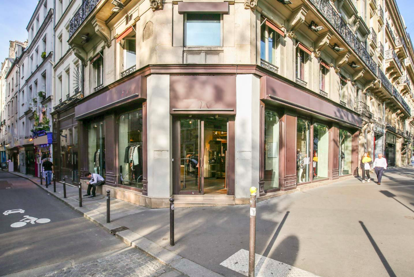 location boutique Saint Germain des Près
