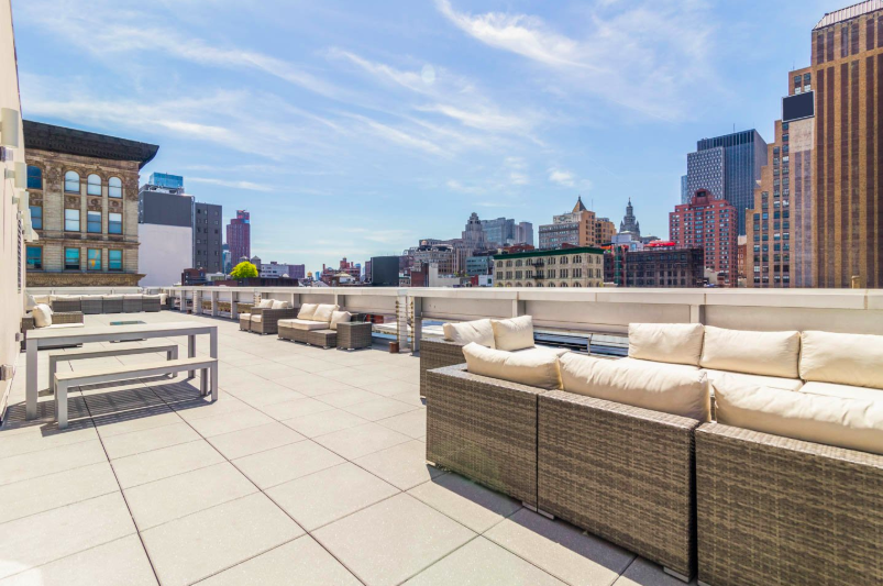 Rooftop in SoHo Manhattan