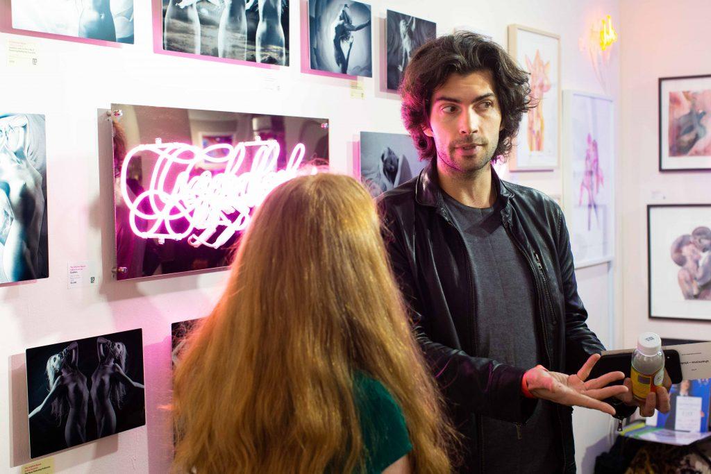 Vente d'art éphémère New York City